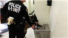 Police Officer Lets Department Canine, Brisco, Drink from Water Fountain