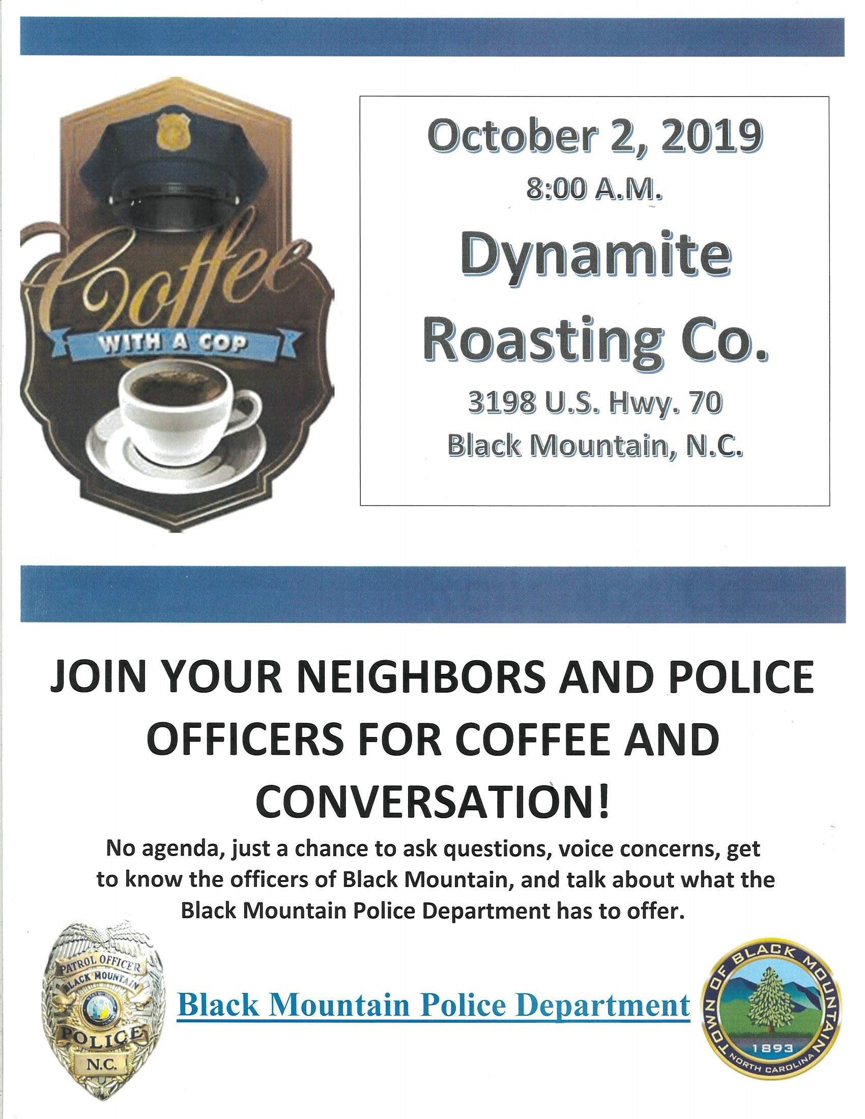 Coffee with a Cop 10.2.2019