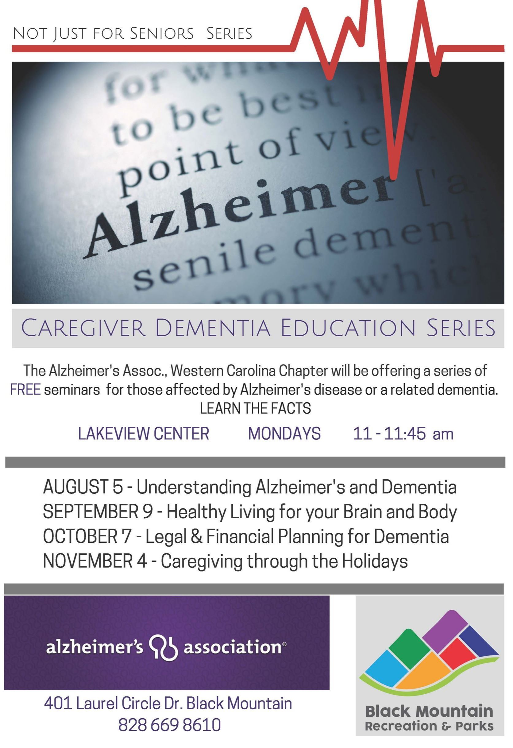 Caregiver Dementia Education Series