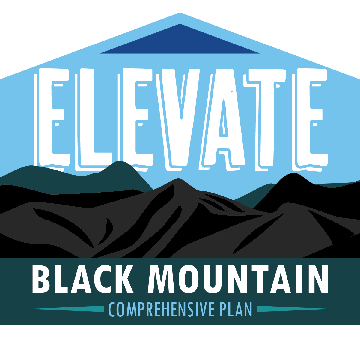 Elevate Black Mountain NC Logo