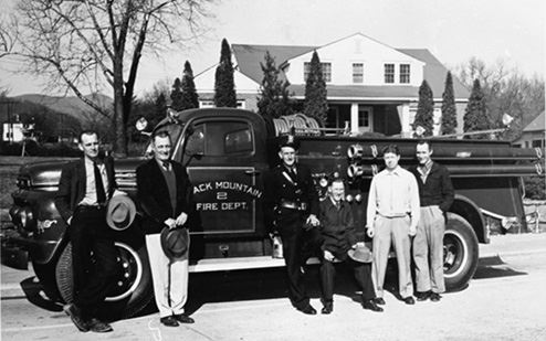 Fire Department Members in 1950