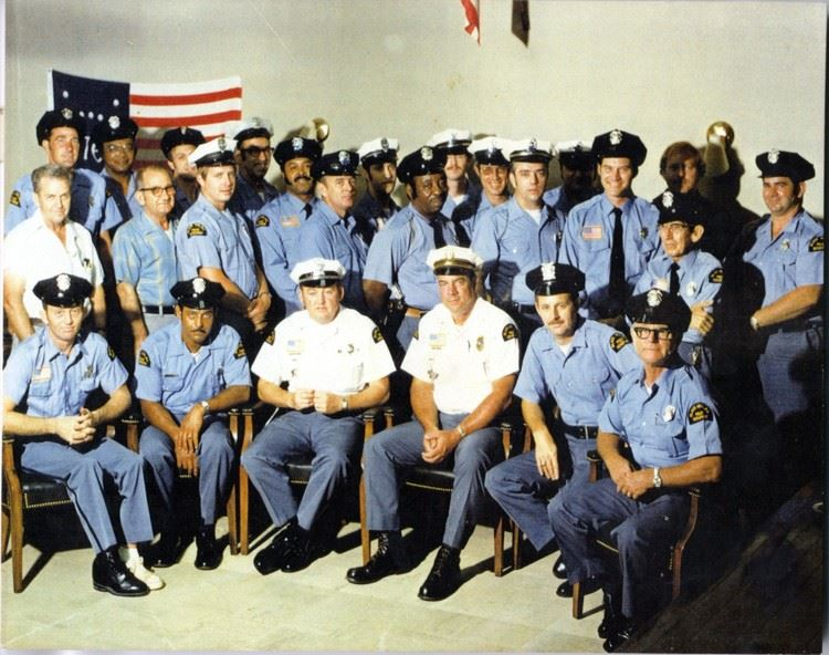 Black Mountain Police and Volunteers 1975
