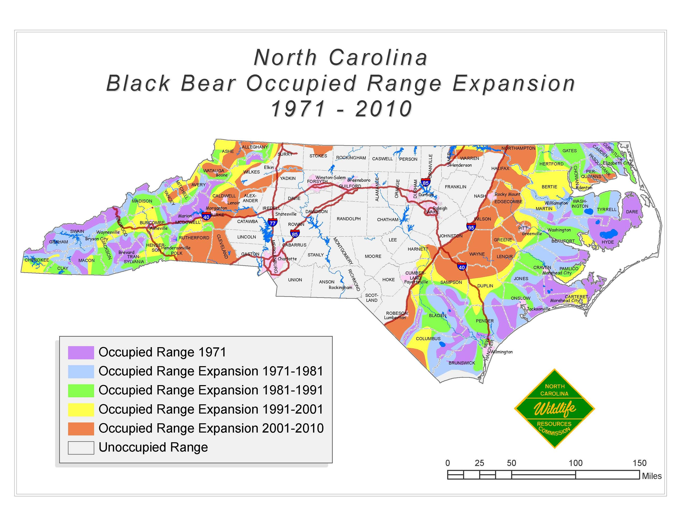 Black Bear Occupied Range Expansion Map (PDF)
