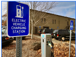 Electric Vehicle Charging Station photo